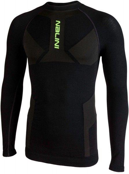 Nalini Unterhemd Merino New Jersey schwarz 4000 1