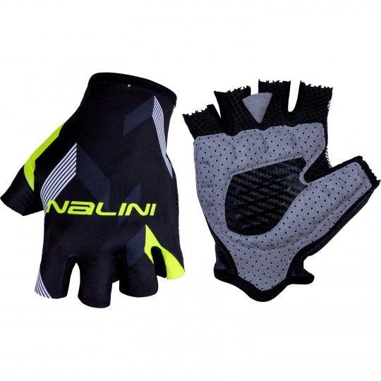 Nalini VETTA 2.0 Fahrradhandschuhe kurzfinger schwarz/gelb 1