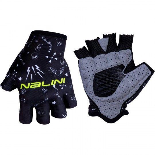 Nalini VETTA 2.0 Fahrradhandschuhe kurzfinger schwarz