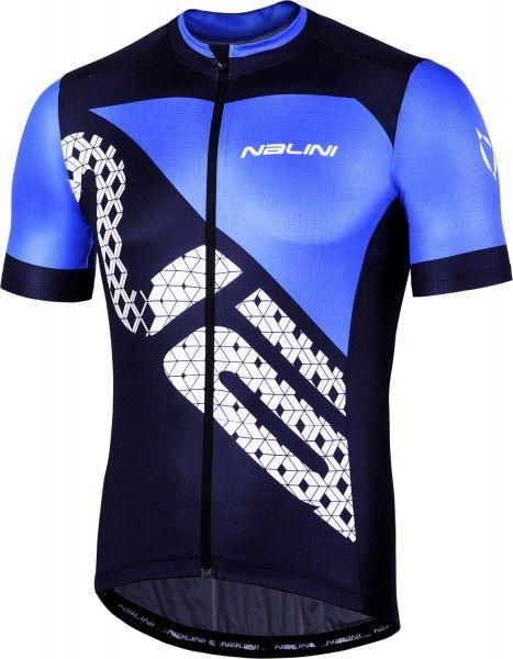 Nalini VITTORIA 2.0 short sleeve cycling jersey blue (E19-4200)