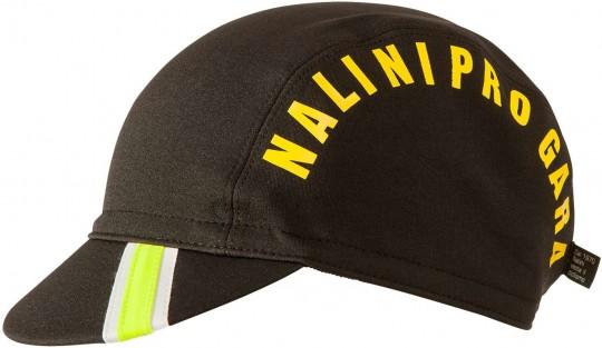 Nalini Wintermütze GARA Cap schwarz neongelb 1