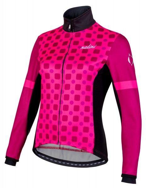 Nalini WS Lady Jkt 2.0 Fahrrad Damen Winterjacke pink/schwarz 1