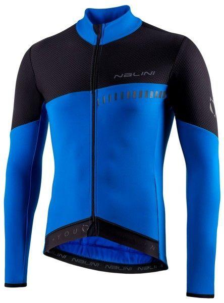 Nalini XWarm Jersey Fahrrad Langarmtrikot schwarz/blau 1