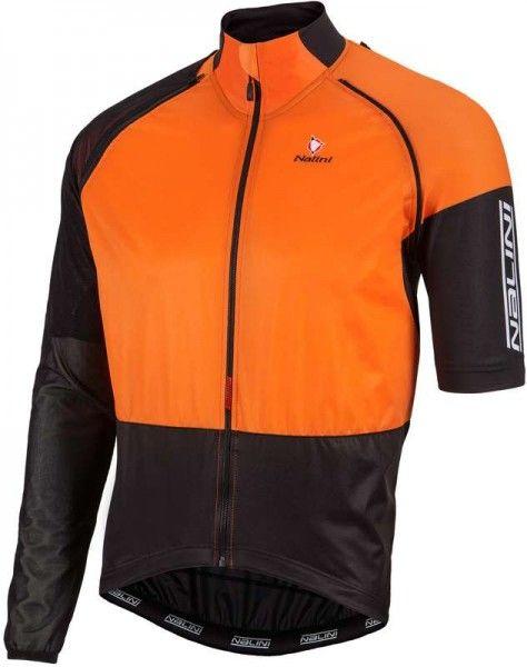 Nalini Zippoffjacke Combi Wind Jersey orange 4151 1