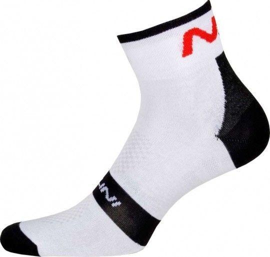 Nalini PRO Na Socks (H12) Radsport-Socken weiß (E17-4020) XXL (46-47 / 12-12.5)