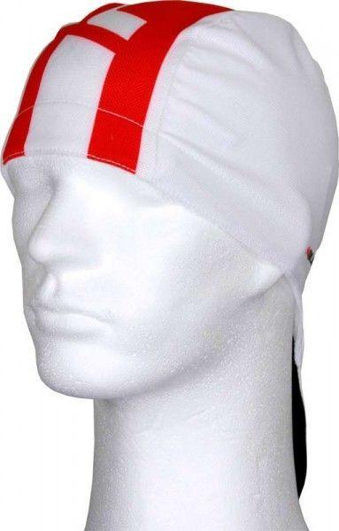 Nalini PRO Red Bandana Radsport-Bandana weiß/rot (E18-4100)