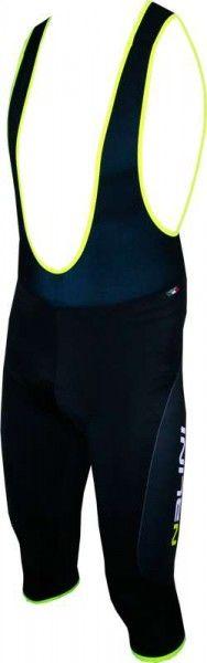 Nalini PRO Sinello Mid Serie 2M Radsport-Bermuda schwarz/neongelb (E16-4050)