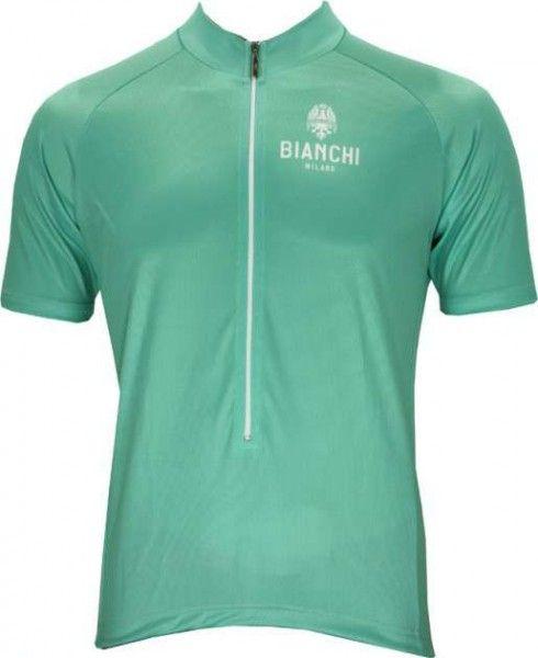 Bianchi Milano Edoardo Fahrrad Kurzarmtrikot celeste 1