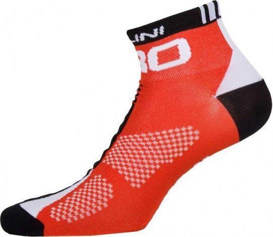 Nalini PRO Pro Socks (H9) Radsport-Socken rot L-XL (42-45 / 8-11.5)