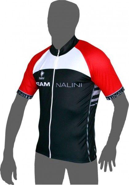 Übergröße Nalini TANDE Kurzarmtrikot schwarz/rot Größe 5XL (9)