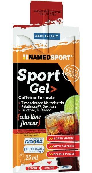 NAMEDSPORT Sport Gel - Cola-Limette 1