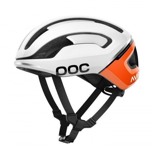 POC OMNE AIR SPIN Fahrradhelm weiß/orange 1