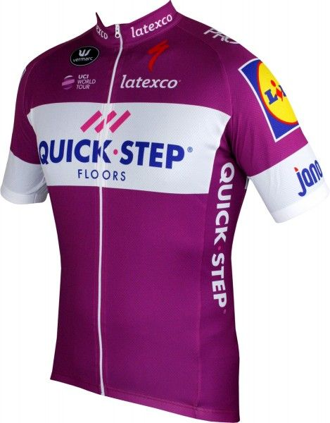 Quick-Step Floors 2018 Giro Special Edition Radtrikot lila 1