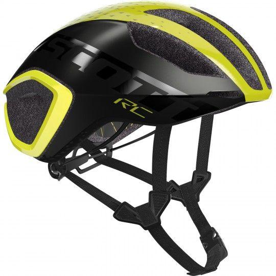 Scott CADENCE PLUS Fahrradhelm yellow RC/dark grey 1