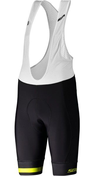 Scott RC Premium ITD Trägerhose schwarz/neongelb 1