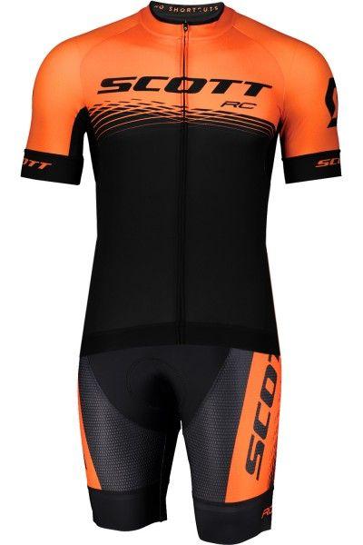 Scott RC PRO Radsport-Set schwarz/orange