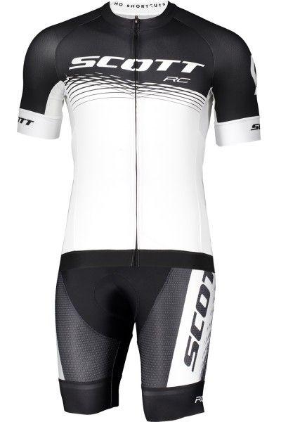 Scott RC PRO Radsport-Set schwarz/weiß