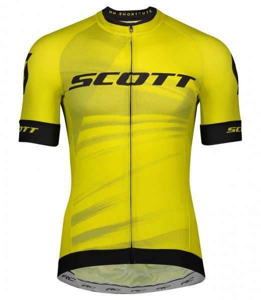 Scott RC PRO Radtrikot kurzarm gelb 1