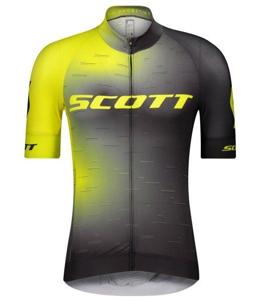 Scott RC PRO Radtrikot kurzarm gelb/schwarz 1