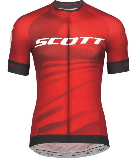 Scott RC PRO Radtrikot kurzarm rot 1