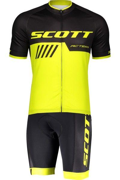 Scott RC TEAM 10 Radsport-Set schwarz/neongelb 1