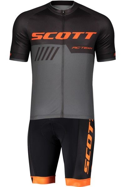 Scott RC TEAM 10 Radsport-Set schwarz/orange