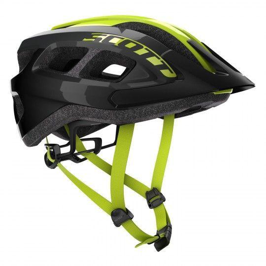 Scott SUPRA Fahrradhelm schwarz/gelb (249287) Universalgröße (54-61 cm)