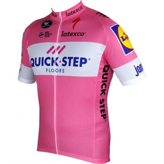 Quick-Step Floors 2018 Giro Special Edition Radtrikot rosa 1
