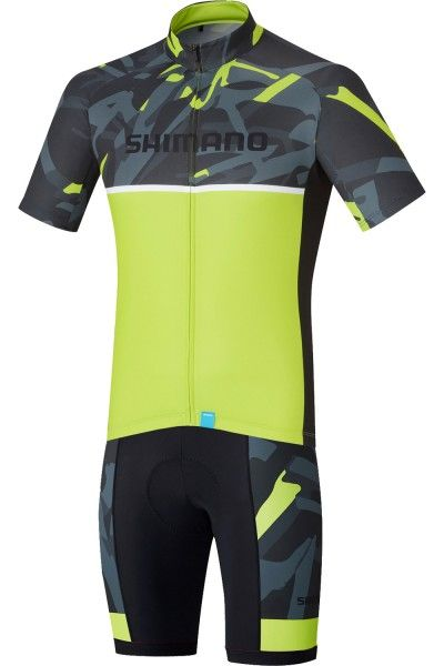 Shimano TEAM Radsport-Set gelb 1