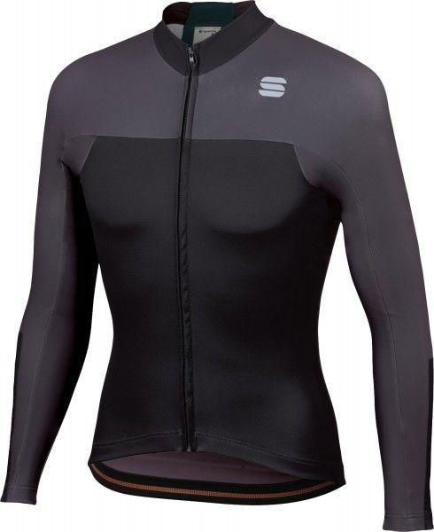 Sportful BODYFIT PRO THERMAL long sleeve cycling jersey black/anthracite
