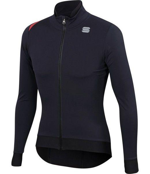Sportful Finadre Medium Jacket Fahrrad Winterjacke schwarz 1