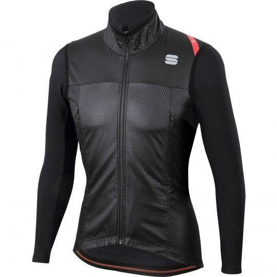Sportful Fiandre Strato Wind Jacket Fahrrad Windjacke schwarz Größe XL (5)