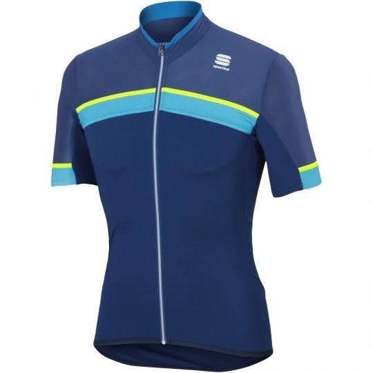 Sportful PISTA Radtrikot blau 1