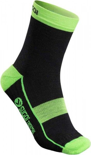 Cannondale RS Winter Socken schwarz/grün by Sugoi L (44-47 / 11-13)