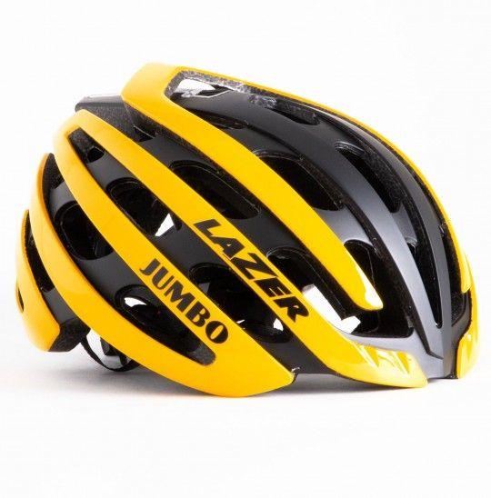Team JUMBO - Visma 2019 Fahrradhelm gelb/schwarz - Lazer Z1 - 1
