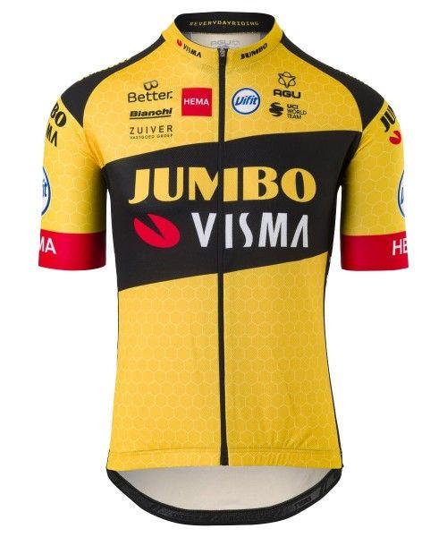 Team Jumbo - Visma 2020 Fahrrad-Kurzarmtrikot 1