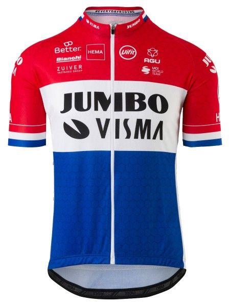 Team Jumbo - Visma niederländischer Meister 2020 Radtrikot 1