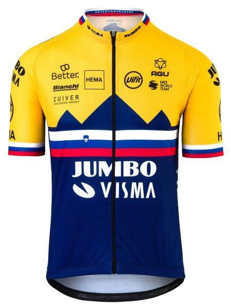 Team Jumbo - Visma slowenischer Meister 2020 Radtrikot kurzarm 1
