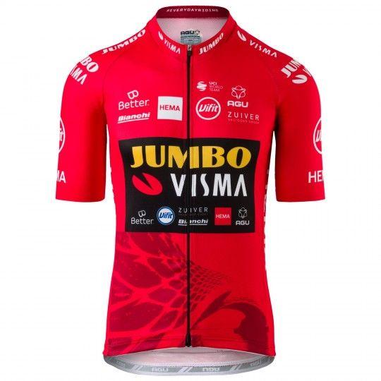 Team Jumbo Visma Vuelta Sieger 2020 Radtrikot kurzarm 1