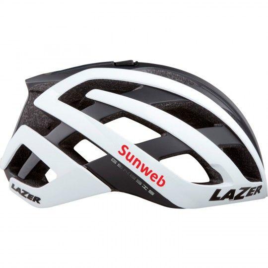 Team Sznweb 2020 GENESIS Fahrradhelm weiß 1