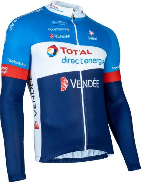 Total Direct Energie 2020 Radtrikot langarm - Nalini Radsport-Profi-Team