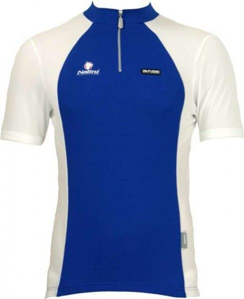 Nalini Base cycling short sleeved tricot TIMAN for kids blue