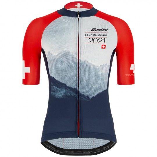 Tour de Suisse 2021 Berg Radtrikot kurzarm 1