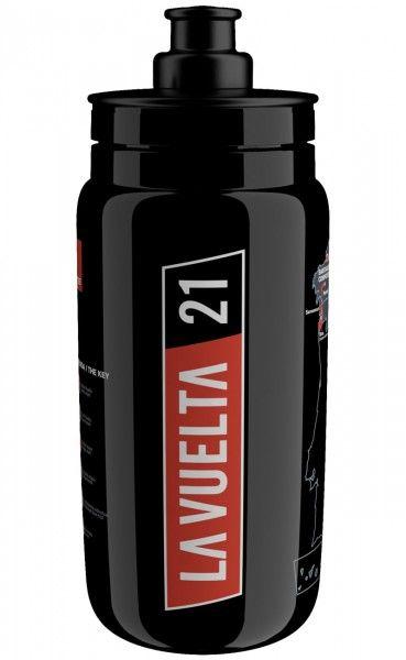 Vuelta a España 2021 Trinkflasche 550 ml schwarz 1