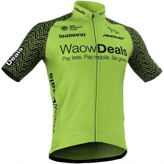Waowdeals Pro Cycling 2018 Radtrikot kurzarm - Giessegi Radsport-Profi-Team Größe M (3)
