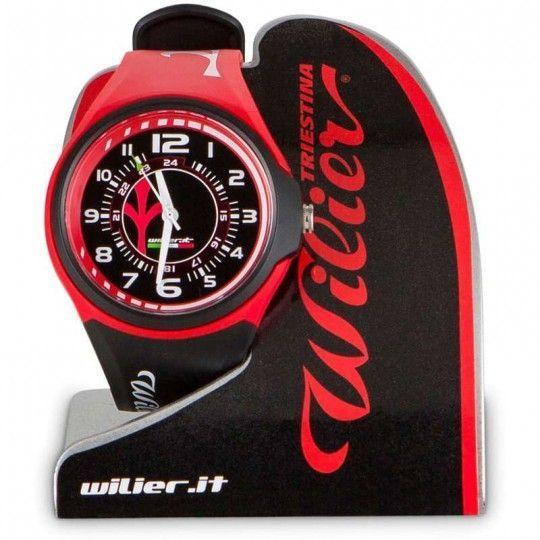 Wilier Armbanduhr schwarz/rot Universalgröße