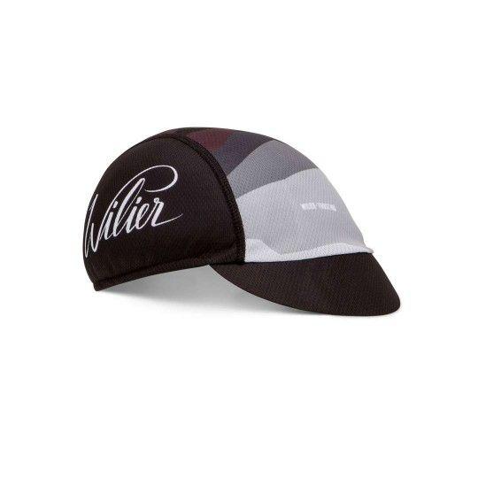 Wilier ROCK POP CAP Radmütze schwarz rot 1