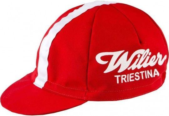Wilier VINTAGE CAP rot Universalgröße