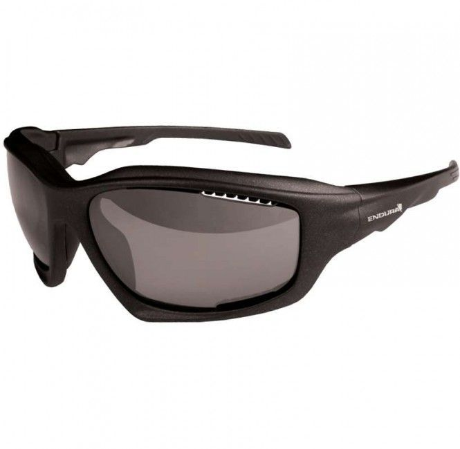 Endura Radbrille GAROUPA - selbstt'nend - matt gun metal