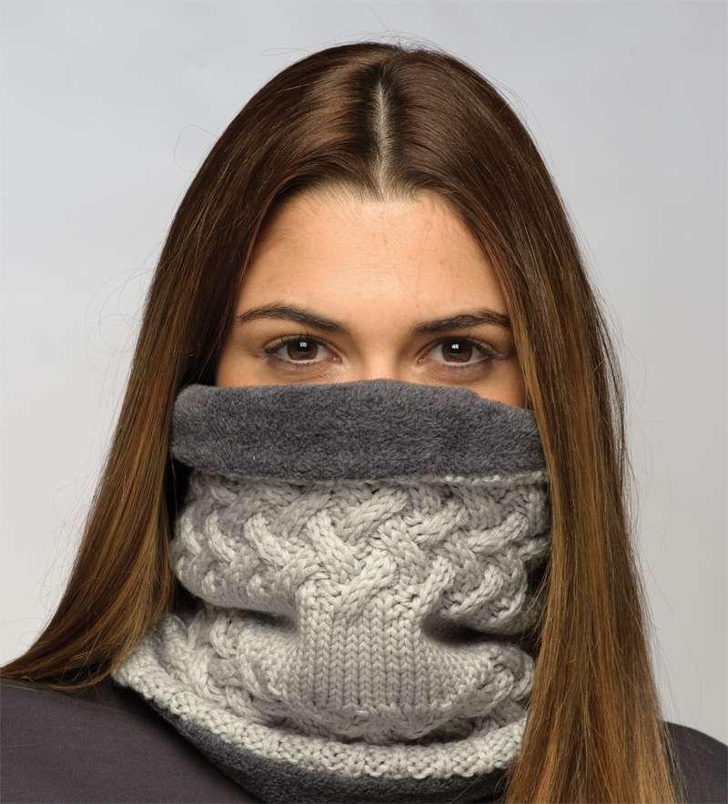 BUFF Neckwarmer   Polar Fleece acrylic yarn tubular cloth SAVVA. Next 0142c36a9c1